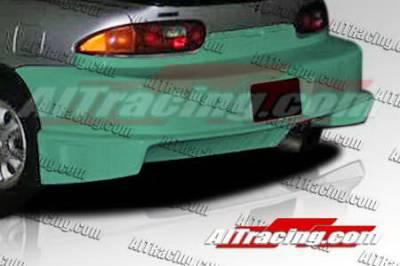 MX3 - Rear Bumper - AIT Racing - Mazda MX3 AIT Racing BZ Style Rear Bumper - MX390HIDFSRB