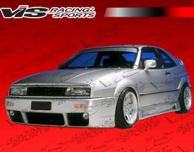 Corrado - Side Skirts - VIS Racing - Volkswagen Corrado VIS Racing PIR Side Skirts - 90VWCOR2DPIR-004