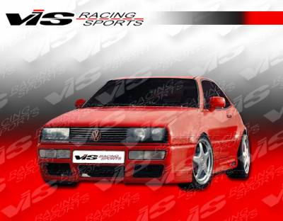 Corrado - Side Skirts - VIS Racing - Volkswagen Corrado VIS Racing R Tech Side Skirts - 90VWCOR2DRTH-004