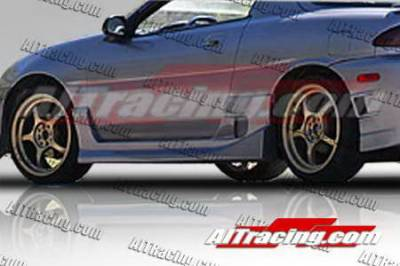 MX3 - Side Skirts - AIT Racing - Mazda MX3 AIT Racing BZ Style Side Skirts - MX390HIDFSSS
