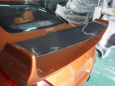 Spoilers - Custom Wing - Bayspeed. - Nissan 350Z Bay Speed VS3 Carbon Spoiler - PCF3050V3-S