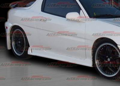 MX3 - Side Skirts - AIT Racing - Mazda MX3 AIT Racing Zen Style Side Skirts - MX390HIZENSS