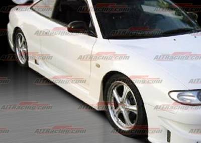 MX6 - Side Skirts - AIT Racing - Mazda MX6 AIT Racing BC Style Side Skirts - MX693HIBCSFB