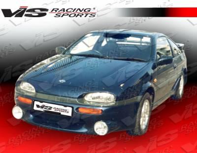NX - Side Skirts - VIS Racing - Nissan NX VIS Racing EVO Side Skirts - 91NSNX2DEVO-004