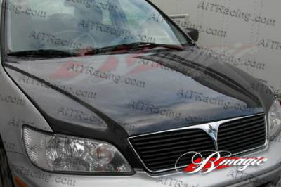 240SX - Hoods - AIT Racing - Nissan 240SX AIT Racing OEM Style Carbon Fiber Hood - N24089BMCFH