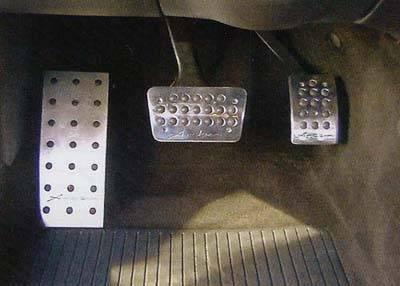 Car Interior - Car Pedals - Custom - Aluminum Dead Pedal