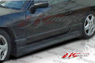 Silvia - Side Skirts - AIT Racing - Nissan Silvia AIT Racing D1 Style Side Skirts - N24089BMD1SSS