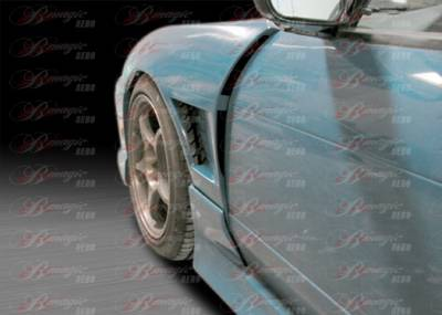 240SX - Fenders - AIT Racing - Nissan 240SX AIT Racing D2 Style Front Fenders - N24094BMD2SFF