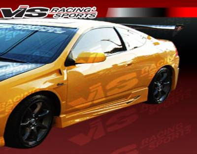 Prelude - Side Skirts - VIS Racing. - Honda Prelude VIS Racing GT Bomber Side Skirts - 92HDPRE2DGB-004