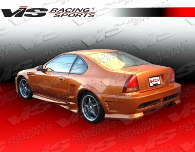 Prelude - Side Skirts - VIS Racing - Honda Prelude VIS Racing Invader-2 Side Skirts - 92HDPRE2DINV2-004