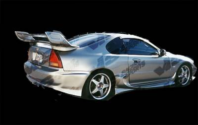 Prelude - Side Skirts - VIS Racing - Honda Prelude VIS Racing Invader-4 Side Skirts - 92HDPRE2DINV4-004