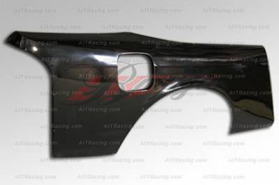 240SX - Body Kit Accessories - AIT Racing - Nissan 240SX AIT Racing D1 Style Wide Quarter Panel - N24095BMD1RF3