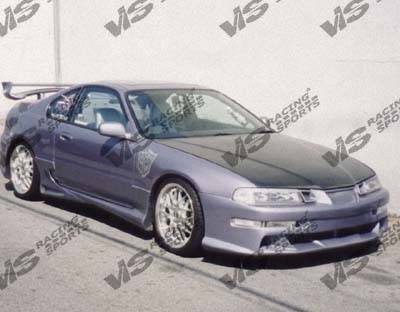 Prelude - Side Skirts - VIS Racing - Honda Prelude VIS Racing Kombat Side Skirts - 92HDPRE2DKOM-004
