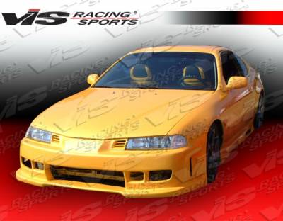 Prelude - Side Skirts - VIS Racing - Honda Prelude VIS Racing Z1 boxer Side Skirts - 92HDPRE2DZ1-004