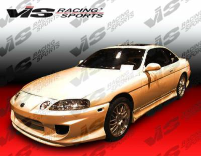 SC - Side Skirts - VIS Racing - Lexus SC VIS Racing Demon Side Skirts - 92LXSC32DDEM-004