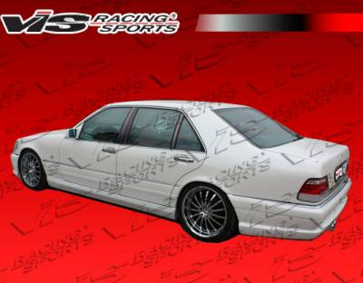 S Class - Side Skirts - VIS Racing - Mercedes-Benz S Class VIS Racing VIP Side Skirts - 92MEW1404DVIP-004