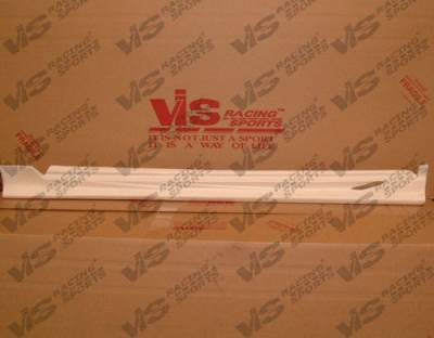 Camry - Side Skirts - VIS Racing - Toyota Camry VIS Racing Cyber-2 Side Skirts - 92TYCAM4DCY2-004