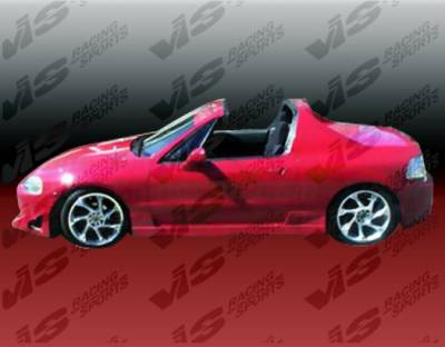 Del Sol - Side Skirts - VIS Racing - Honda Del Sol VIS Racing TSC Side Skirts - 93HDDEL2DTSC-004