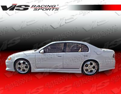 GS - Side Skirts - VIS Racing - Lexus GS VIS Racing Cyber-1 Side Skirts - 93LXGS34DCY1-004