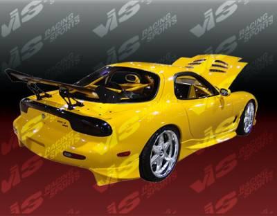 RX7 - Side Skirts - VIS Racing - Mazda RX-7 VIS Racing KS Side Skirts - 93MZRX72DKS-004
