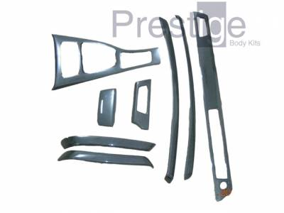 Car Interior - Interior Trim Kits - Custom - Type E90 Interior CF trim 8 pieces
