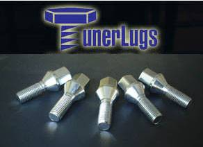 Accessories - Lug Nuts - Custom - BMW Chrome Tuner Lug Nuts -20 Pieces