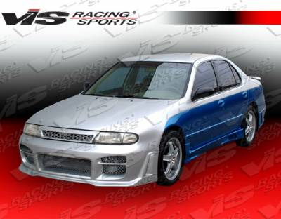 Altima - Side Skirts - VIS Racing - Nissan Altima VIS Racing Omega Side Skirts - 93NSALT4DOMA-004