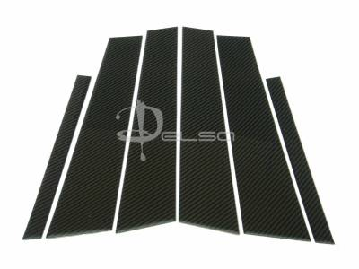 Accessories - Exterior Accessories - Custom - E90 Carbon Fiber Door Pillars