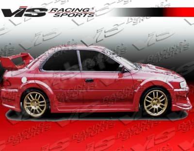 Impreza - Side Skirts - VIS Racing - Subaru Impreza VIS Racing Viper Side Skirts - 93SBIMP4DVR-004