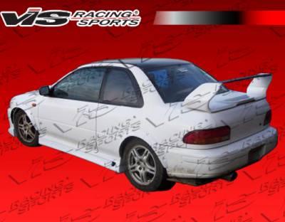 Impreza - Side Skirts - VIS Racing - Subaru Impreza VIS Racing Z Speed Side Skirts - 93SBIMP4DZSP-004