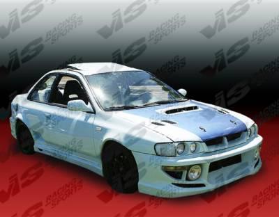 Impreza - Side Skirts - VIS Racing - Subaru Impreza VIS Racing Zyclone Side Skirts - 93SBIMP4DZYC-004