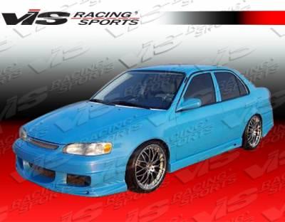 Corolla - Side Skirts - VIS Racing - Toyota Corolla VIS Racing Ballistix Side Skirts - 93TYCOR4DBX-004