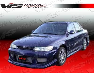 Corolla - Side Skirts - VIS Racing. - Toyota Corolla VIS Racing Striker Side Skirts - 93TYCOR4DSTR-004