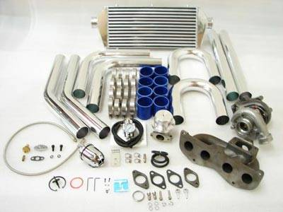 Performance Parts - Turbo Charger Kit - Custom - TURBO CHARGER KIT WITH IC PIPING