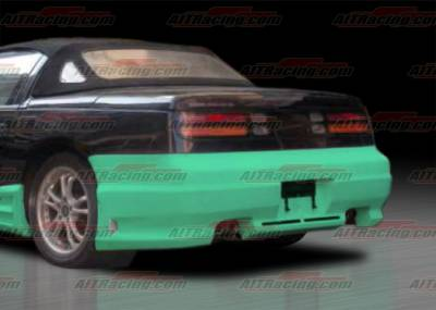 300Z - Rear Bumper - AIT Racing - Nissan 300Z AIT Racing CW Style Rear Bumper - N30090HICWSRB