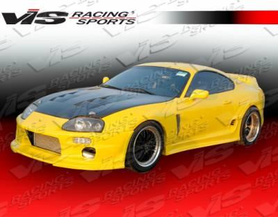 Supra - Side Skirts - VIS Racing - Toyota Supra VIS Racing Demon Side Skirts - 93TYSUP2DDEM-004