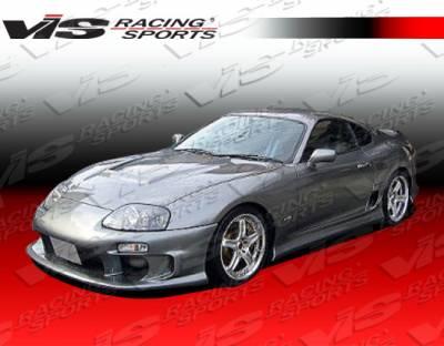 Supra - Side Skirts - VIS Racing - Toyota Supra VIS Racing Terminator Side Skirts - 93TYSUP2DTM-004