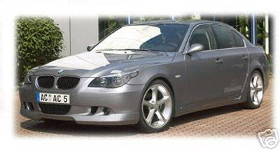 5 Series - Front Bumper - Custom - ACS E60 Front Lip - ABS Plastic