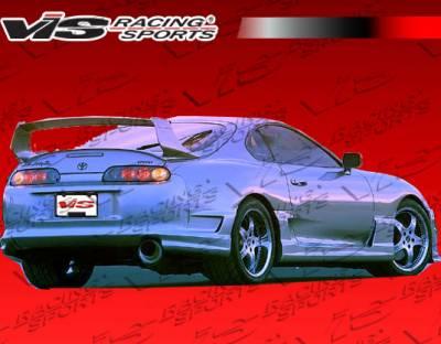 Supra - Side Skirts - VIS Racing - Toyota Supra VIS Racing Tracer Side Skirts - 93TYSUP2DTRA-004