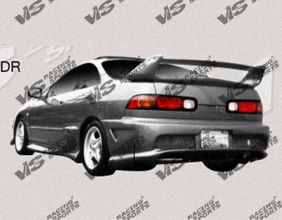 Integra 2Dr - Side Skirts - VIS Racing - Acura Integra VIS Racing Invader-2 Side Skirts - 94ACINT2DINV2-004
