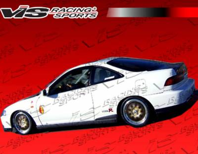 Integra 2Dr - Side Skirts - VIS Racing - Acura Integra 2DR VIS Racing Type R Side Skirts - 94ACINT2DTYR-004