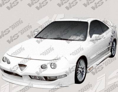 Integra 4Dr - Side Skirts - VIS Racing - Acura Integra 4DR VIS Racing Techno R Side Skirts - 94ACINT4DTNR-004
