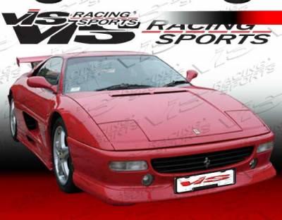 F355 - Side Skirts - VIS Racing - Ferrari F355 VIS Racing Matrix Design Side Skirts - 94FR3552DMAT-004