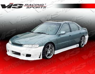 Accord 4Dr - Side Skirts - VIS Racing - Honda Accord 4DR VIS Racing TSC-3 Side Skirts - 94HDACC2DTSC3-004