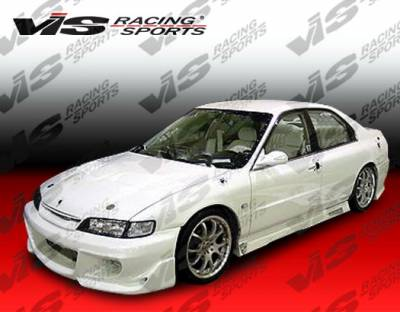 Accord 2Dr - Side Skirts - VIS Racing - Honda Accord 2DR VIS Racing Z1 boxer Side Skirts - 94HDACC2DZ1-004