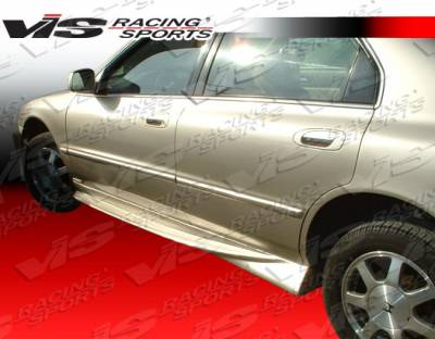 Accord 4Dr - Side Skirts - VIS Racing - Honda Accord 4DR VIS Racing Invader Side Skirts - 94HDACC4DINV-004