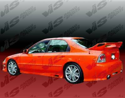 Accord 4Dr - Side Skirts - VIS Racing - Honda Accord 4DR VIS Racing Z1 boxer Side Skirts - 94HDACC4DZ1-004