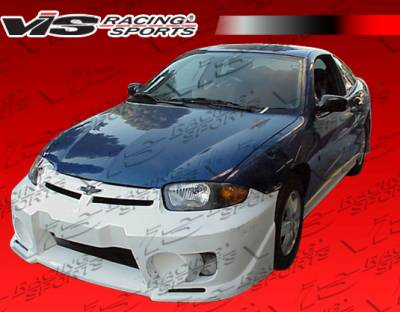 Cavalier 2Dr - Side Skirts - VIS Racing - Chevrolet Cavalier VIS Racing EVO-5 Side Skirts - 95CHCAV2DEVO5-004