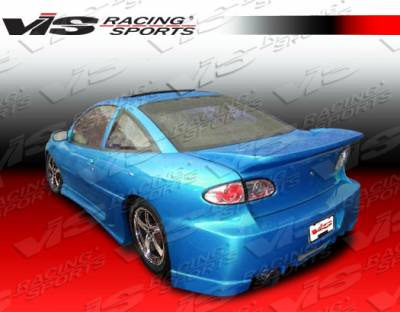 Cavalier 2Dr - Side Skirts - VIS Racing - Chevrolet Cavalier VIS Racing Kombat Side Skirts - 95CHCAV2DKOM-004