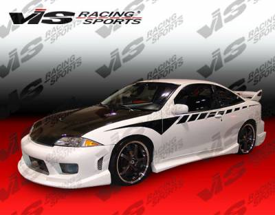 Cavalier 2Dr - Side Skirts - VIS Racing - Chevrolet Cavalier 2DR VIS Racing Striker Side Skirts - 95CHCAV2DSTR-004